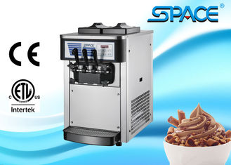 Small Commercial Ice Cream Machine Table Top Twin Twist Flavor 20Liters/Hour