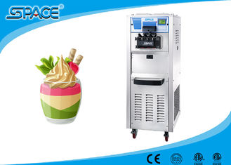 High Capacity Commercial Soft Serve Ice Cream Machine Full Stainless Steel Material