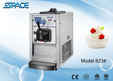 Mini Commercial Soft Ice Cream Making Machine Table Top with Single Flavor