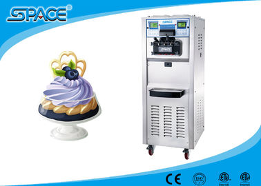 Professional Commercial Ice Cream Machine With Air Pump Feed And 3 Compressor