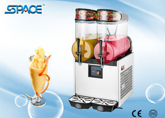 User Friendly Design Commercial Frozen Drink Maker Fast Cooling Double Bowl