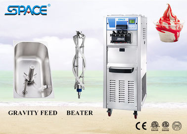 European Style Commercial Soft Ice Cream Machine / Large Capacity Ice Cream Maker