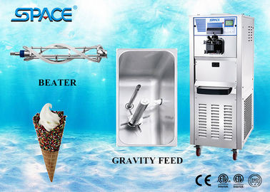Professional Soft Serve Commercial Ice Cream Maker 304 Stainless Steel Material