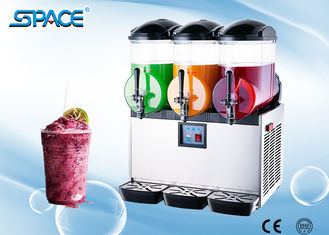 2 Tank Commercial Ice Slush Frozen Drink Machine For Restaurant / Party Use