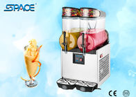 2 Bowl Slush Machine Commercial Frozen Drink Maker CE Approved