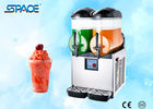 Eco Friendly Margarita Frozen Drink Maker , Granita Slush Machine With Double Bowl
