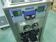 Table Top Frozen Commercial Yogurt Making Equipment With Two Compressors