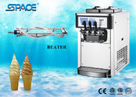 China Commercial Table Top Ice Cream Machine , Soft Serve Ice Cream Equipment factory