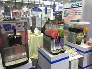 Full Stainless Steel Frozen Granita Machine , Margarita Slush Frozen Drink Machine