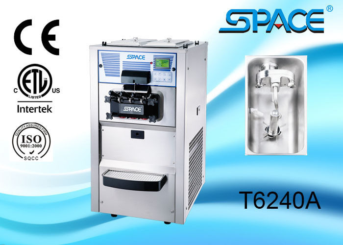 Professional Countertop Soft serve Ice Cream Machine With Air Pump Precooling