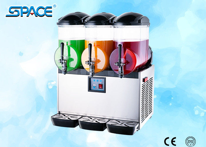 3x12L Output Countertop Frozen Drink Dispenser Slush Maker Machine Low Noise