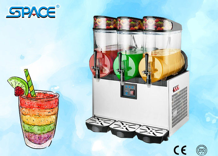 3 Tanks Commercial Frozen Drink Maker For Restaurant Use High Performance