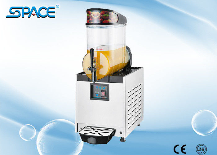Frozen Drink Slush Machine / Slush Granita Machine With Aspera Compressor